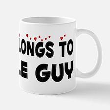 Belongs To A Cable Guy Mug