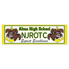 Alma NJROTC bumper stickers Bumper Bumper Sticker