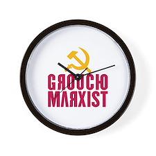 Groucho Marxist Wall Clock