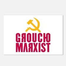 Groucho Marxist Postcards (Package of 8)