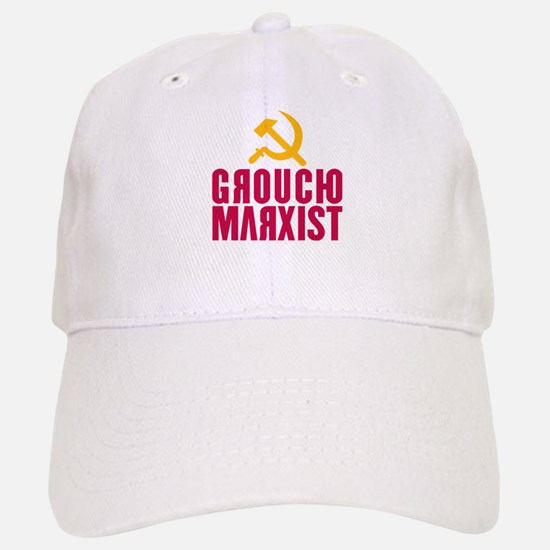 Groucho Marxist Baseball Baseball Cap