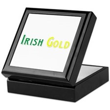 Irish Gold Keepsake Box