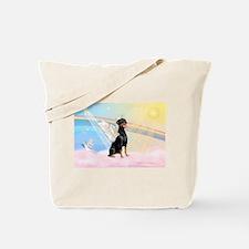 Doberman Pinscher Angel (Nat) Tote Bag