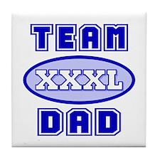 Team Dad Tile Coaster