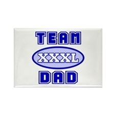 Team Dad Rectangle Magnet