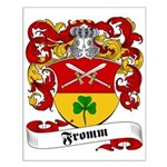 Fromm Family Crest Small Poster