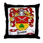 Fromm Family Crest Throw Pillow