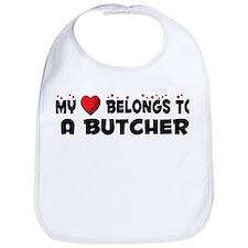 Belongs To A Butcher Bib