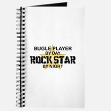 Bugle Player Rock Star Journal