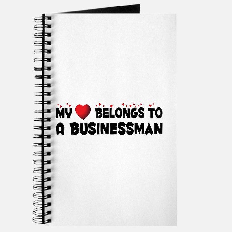 Belongs To A Businessman Journal