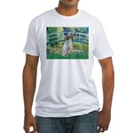 Bridge / English Setter Fitted T-Shirt