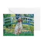 Bridge / English Setter Greeting Cards (Pk of 10)
