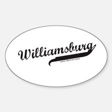 Williamsburg Oval Decal