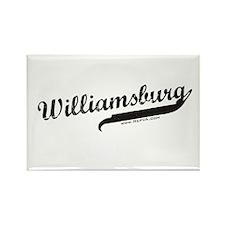 Williamsburg Rectangle Magnet