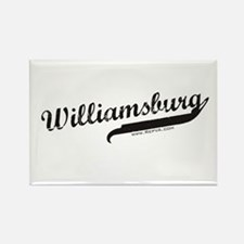 Williamsburg Rectangle Magnet