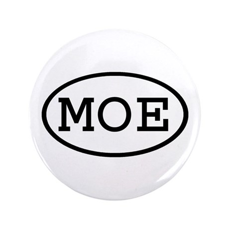 """MOE Oval 3.5"""" Button (100 pack)"""