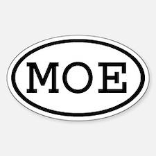 MOE Oval Oval Decal