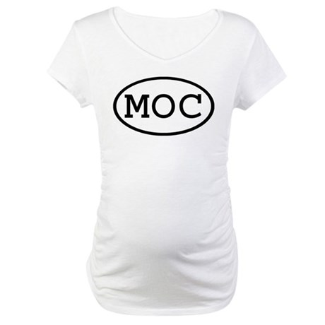 MOC Oval Maternity T-Shirt