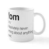 Cpdefinemom Standard Mugs (11 Oz)