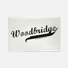 Woodbridge Rectangle Magnet
