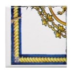 Plaza D Armes Tile Mural Tile Coaster