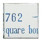 Plaza D Armes #10 Mural Tile Coaster
