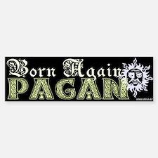Born Again Pagan Bumper Bumper Bumper Sticker