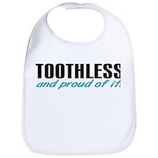 Toothless & proud Bib