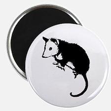 Possum Silhouette Magnet