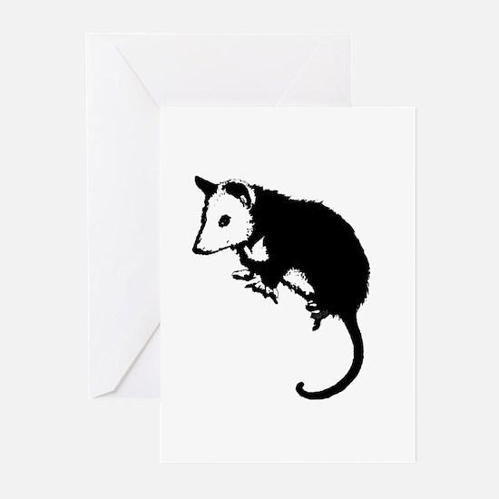 Possum Silhouette Greeting Cards (Pk of 10)