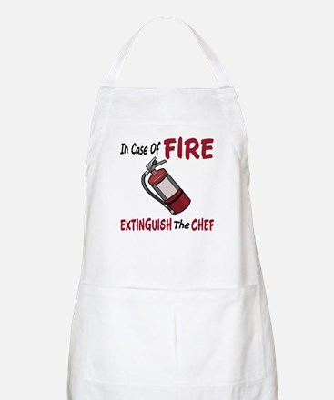 In Case Of Fire Barbecue Apron