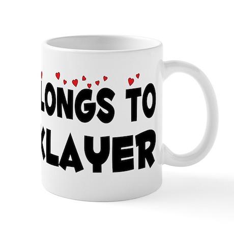 Belongs To A Bricklayer Mug