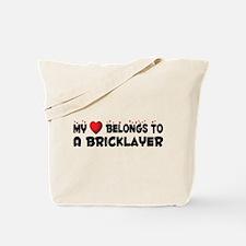 Belongs To A Bricklayer Tote Bag