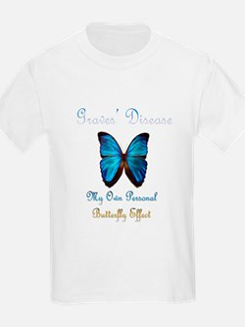 Graves' Disease Butterfly Effect T-Shirt