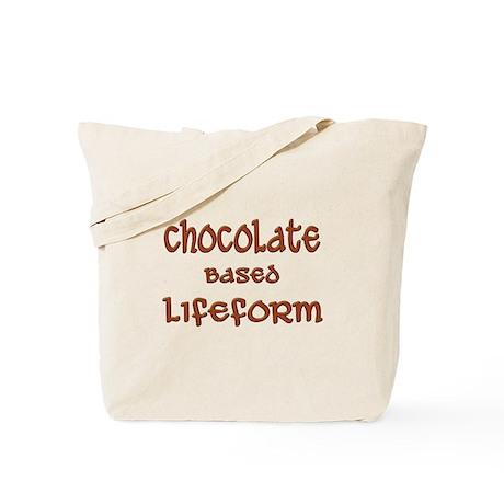 Chocolate Based Lifeform Tote Bag