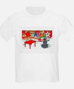 Obama Table Snowman (2) T-Shirt