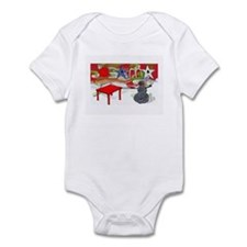 Obama Table Snowman (2) Infant Bodysuit
