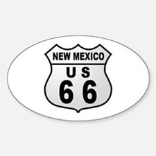 Route 66 New Mexico Oval Decal