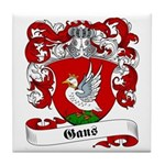 Gans Family Crest Tile Coaster