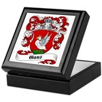 Gans Family Crest Keepsake Box