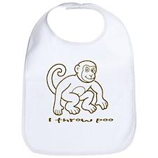 I throw poo Bib