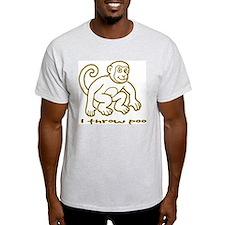 I throw poo T-Shirt