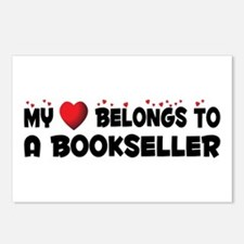 Belongs To A Bookseller Postcards (Package of 8)