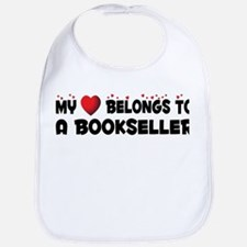 Belongs To A Bookseller Bib