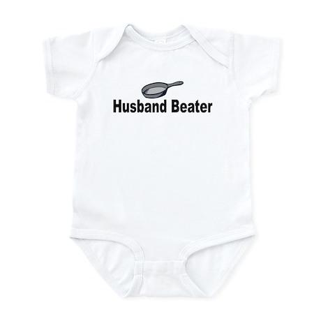 Husband beater (pan) Infant Bodysuit