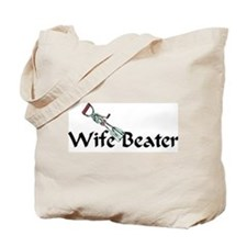 wife beater Tote Bag