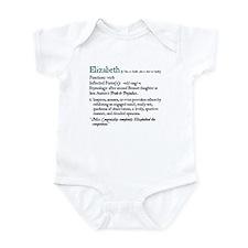 Jane Austen Elizabeth Infant Bodysuit