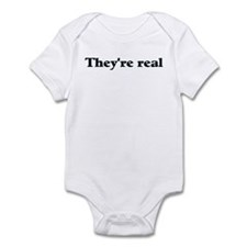 They're real Infant Bodysuit