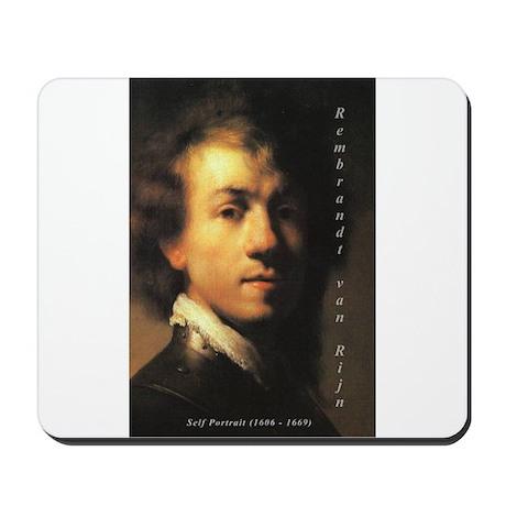 Rembrandt: Self Portrait Mousepad