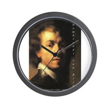 Rembrandt: Self Portrait Wall Clock